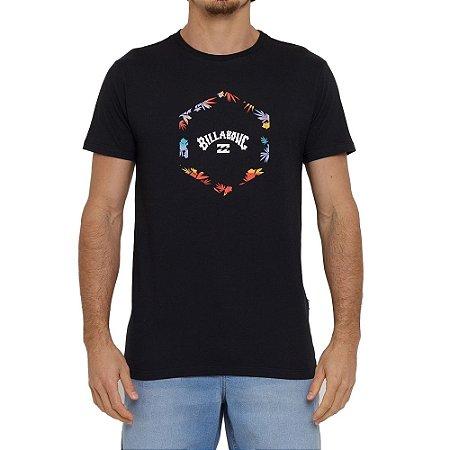 Camiseta Billabong Access I Masculina Preto