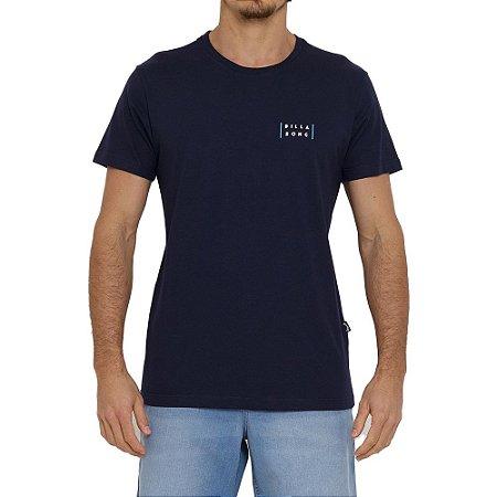 Camiseta Billabong Bars Masculina Azul Marinho