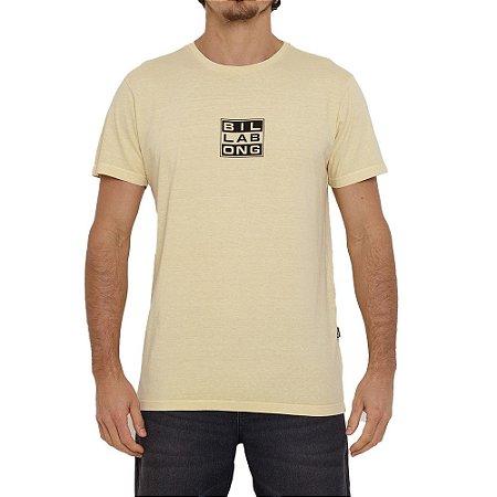 Camiseta Billabong Hemp Arch Masculina Amarelo