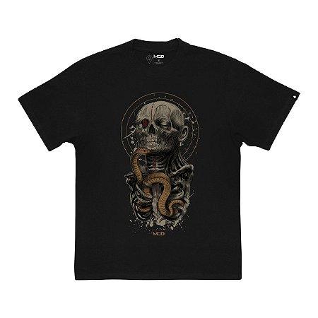 Camiseta MCD Especial Golden Masculina Preto
