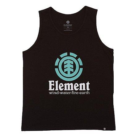 Regata Element Vertical Masculina Preto