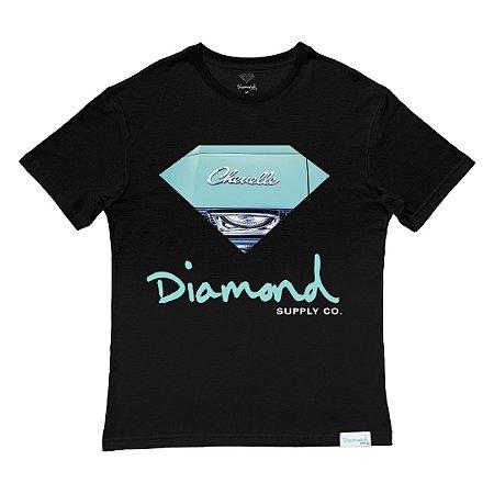 Camiseta Diamond Chevelle Tee Masculina Preto