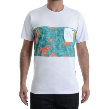 Camiseta Billabong Crew Tribong Branca
