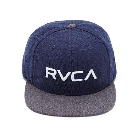 Boné RVCA Snap Twill Class C Azul