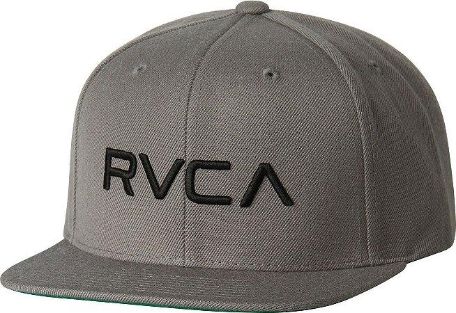 Boné RVCA Snap Twill Class C Cinza