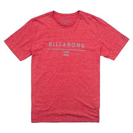 Camiseta Billabong Unity Vinho