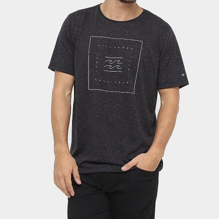 Camiseta Billabong Quadrant Preto
