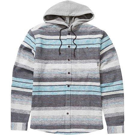 Camisa Billabong M/L Horizon Cinza