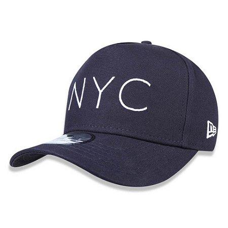 Boné New Era 940 NYC New York City Azul Marinho