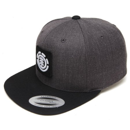 Boné Element Snap United Cap B Class R Cinza/Preto
