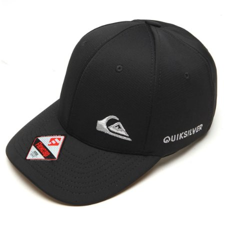 Boné Quiksilver Logo Bordado Cap Preto - Radical Place - Loja ... 1e021ab39ca
