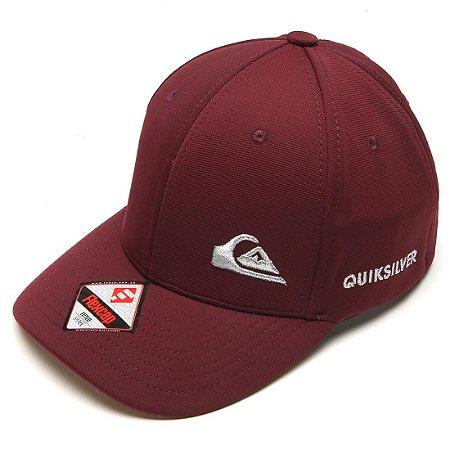 Boné Quiksilver Logo Bordado Cap Vinho - Radical Place - Loja ... 4153ef1dbc