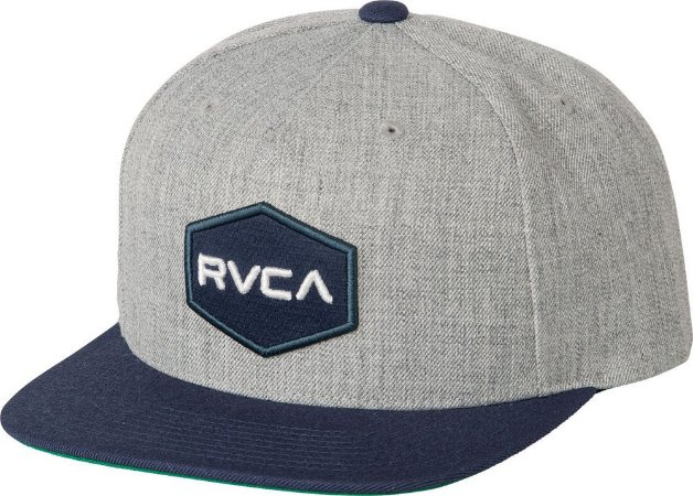 Boné RVCA Snap Cwealth Class R Cinza/Azul