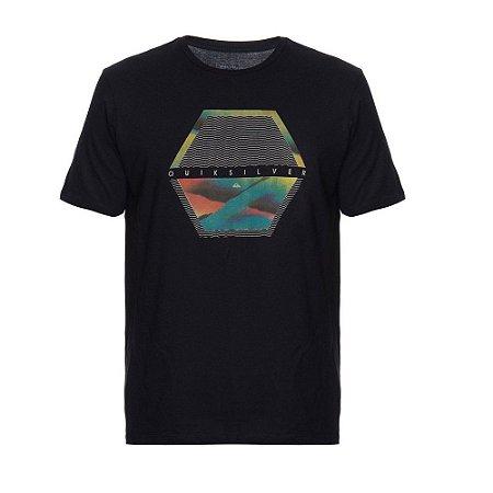 Camiseta Quiksilver Comfort Place Preta