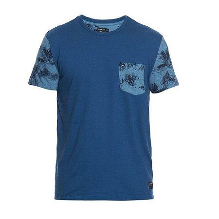 0c61c2927c9b9 Camiseta Quiksilver Folhagens Azul - Radical Place - Loja Virtual de ...