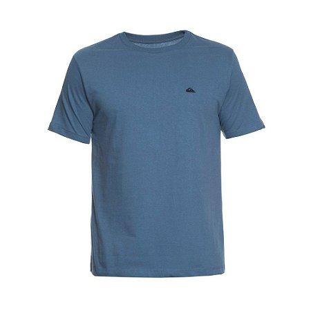 Camiseta Quiksilver Embroyed Logo Azul