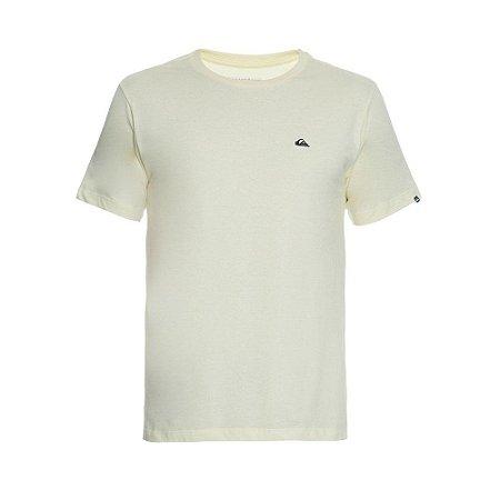 Camiseta Quiksilver Embroyed Logo Amarela