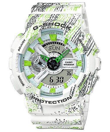 7093874003f Relógio G-Shock GA-110TX Branco - Radical Place - Loja Virtual de ...