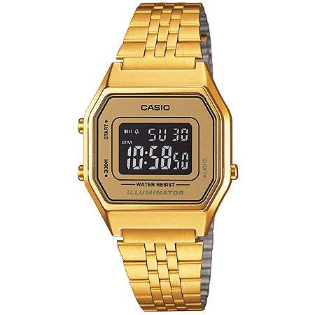 47010030963 Relógio Casio Vintage LA680WGA Dourado - Radical Place - Loja ...