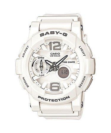 465d94a3968 Relógio Baby-G BGA-180 Branco - Radical Place - Loja Virtual de ...