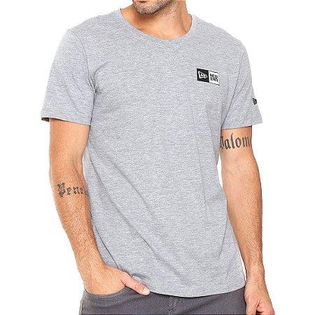 Camiseta New Era Mini Basic Logo Cinza - Radical Place - Loja ... eb4d70941e4