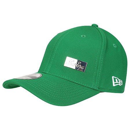 Boné New Era 3930 HC Pin Verde