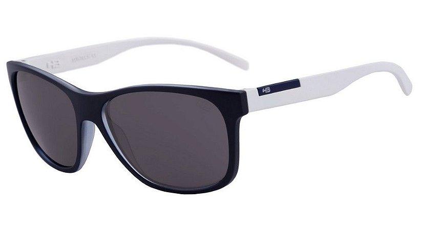 Óculos de Sol HB Underground Matte Steel Blue / White | Gray