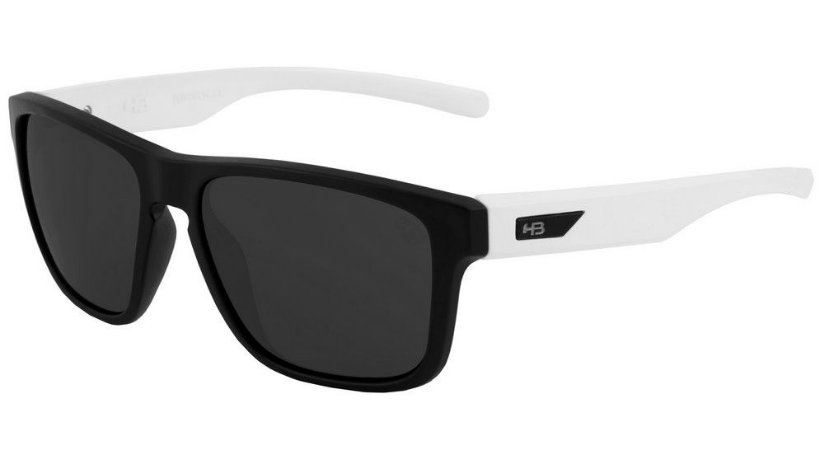 d4fb3c970e2df Óculos de Sol HB H-Bomb Matte Black   Gloss White   Gray - Radical ...