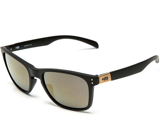 Óculos de Sol HB Gipps II Matte Black l Gold