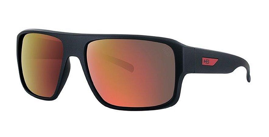 Óculos de Sol HB RedBack Matte Black   D. Red   Red Chrome - Radical ... e13e5ce09a