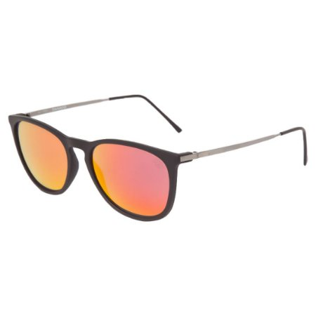 Óculos de Sol HB Tanami Matte Black | Red Chrome