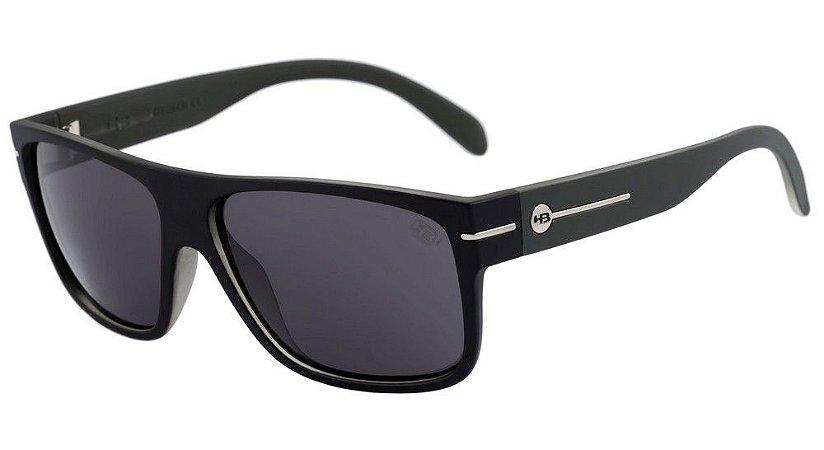 Óculos de Sol HB Would Matte Black / Army | Gray