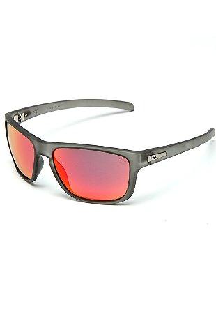 Óculos de Sol HB Thruster Matte Onyx l Red Chrome