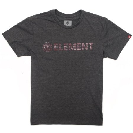 Camiseta Element Plys Cinza Escuro