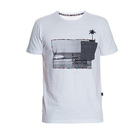 Camiseta Quiksilver Trends Branca