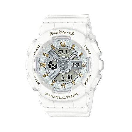 Relógio Baby-G BA-110GA Branco