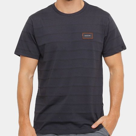 88f6c58e74633 Camiseta Quiksilver Rain Preto - Radical Place - Loja Virtual de ...