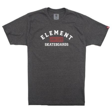 Camiseta Element For Life Cinza Escuro