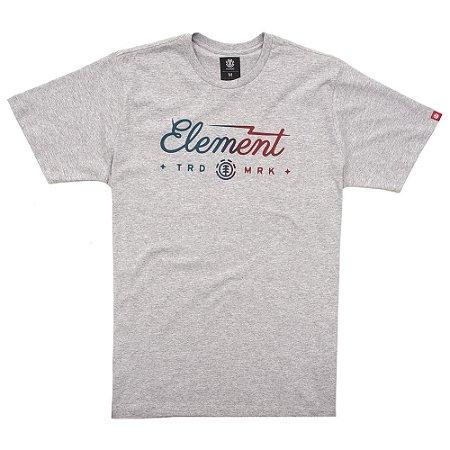Camiseta Element Bolt Cinza