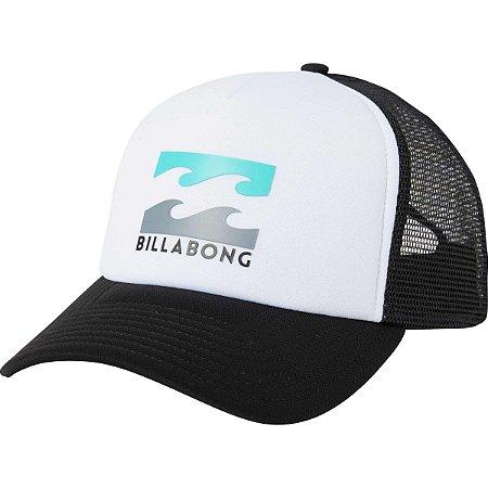 Boné Billabong Podium Trucker Branco/Preto