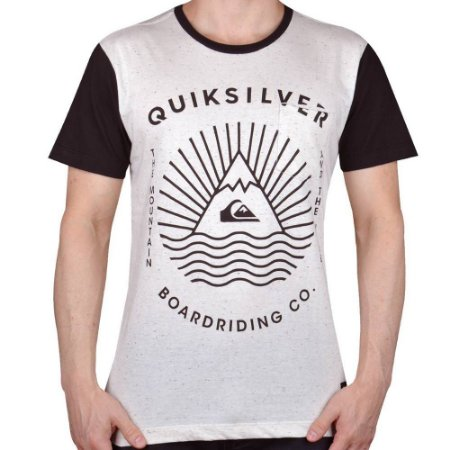 Camiseta Quiksilver The Game Off White