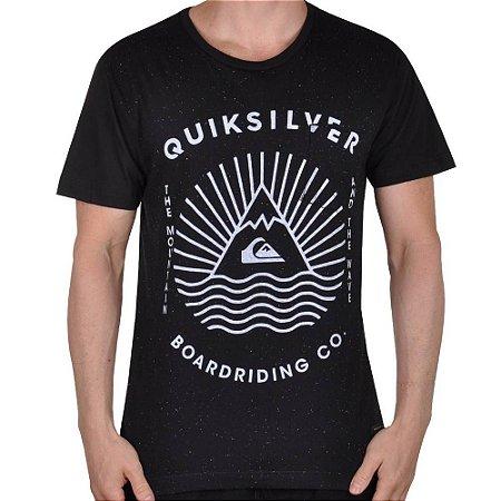 Camiseta Quiksilver The Game Preta
