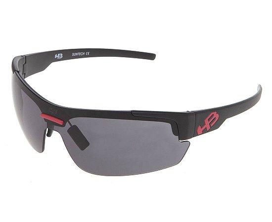 Óculos de Sol HB HighLander 3B Matte Black D. Red | Gray