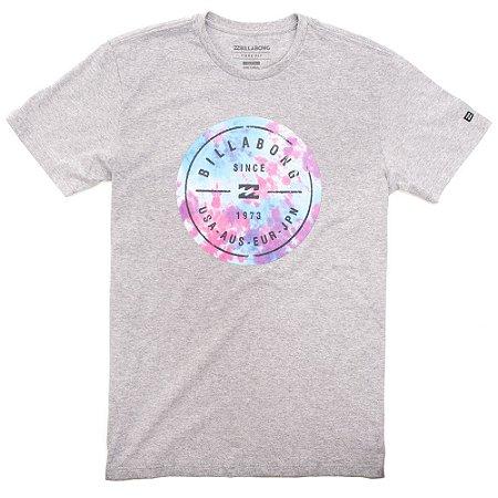 Camiseta Billabong Riot Roter Cinza