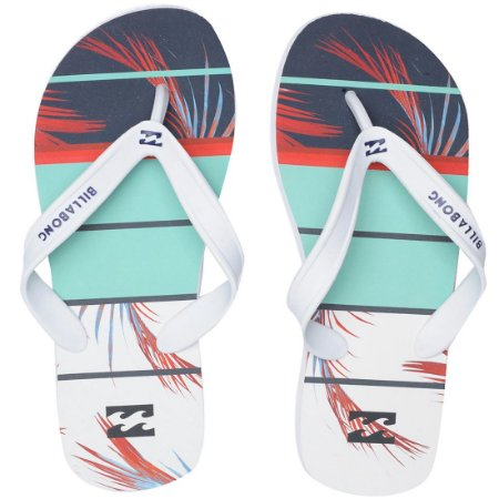 Chinelo Billabong Spinner Verde Claro