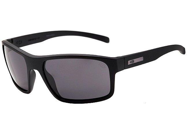 Óculos de Sol HB OverKill Matte Black I Gray