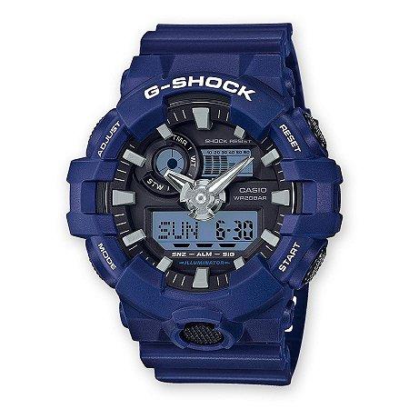 Relógio G-Shock GA-700-2ADR Azul
