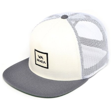 Boné RVCA Snap All The Way Truck R Off-White