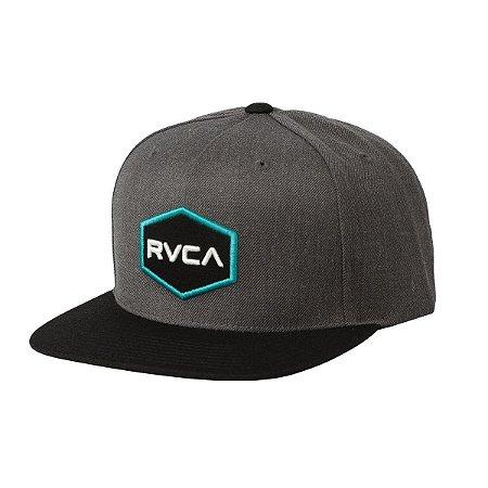 Boné RVCA Snap Cwealth Class R Cinza/Verde