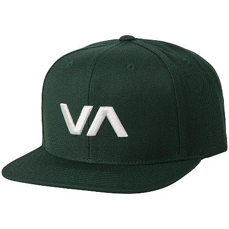 Boné RVCA Snap VA II Verde/Branco
